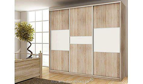 chambre adulte but armoire dressing design 3 portes coulissantes pas cher