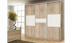 Grande Armoire Dressing : armoire dressing design 3 portes coulissantes pas cher ~ Teatrodelosmanantiales.com Idées de Décoration