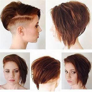 20 Reizvolles Gestapelte Frisuren F R Kurzes Haar Smart