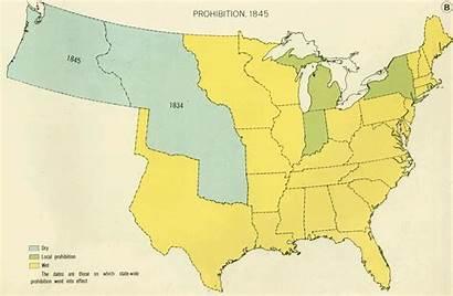 Prohibition Maps Evolution Map Vox States United