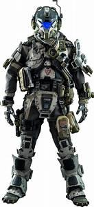 Titanfall IMC Battle Rifle Pilot Sixth Scale Figure by ...