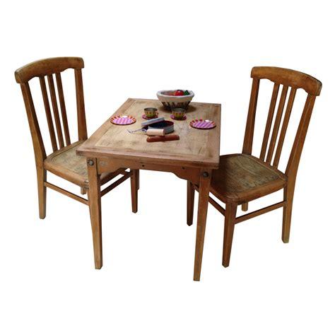 ensemble table et chaises enfant r 233 tro boutique