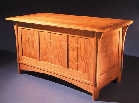 mission blanket chest popular woodworking magazine