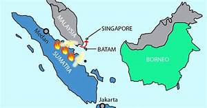 Indonesia Map Singapore