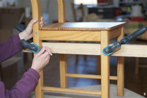 fabriquer des chaises atelier retouche