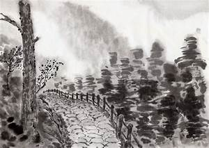 Chinese Landscape Ink Painting | Chinese landscape ...