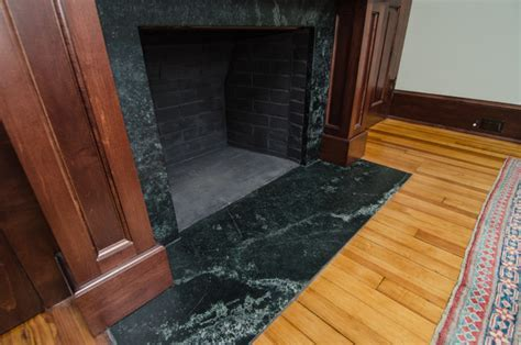 Soapstone Fireplace Surround   Traditional   Living Room