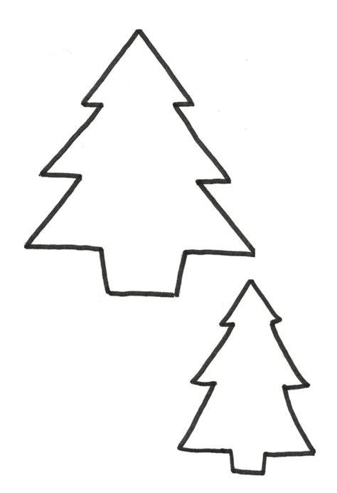 plantilla árbol de navidad para imprimir pinos de navidad para colorear descargar e imprimir