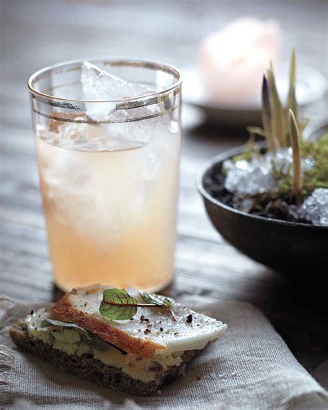 lavender cocktail lavender lemonade recipe martha stewart