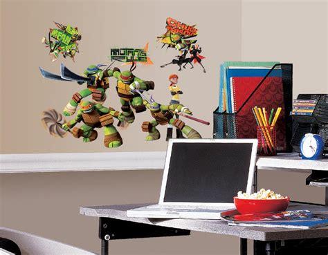 new teenage mutant ninja turtles wall decals kids bedroom