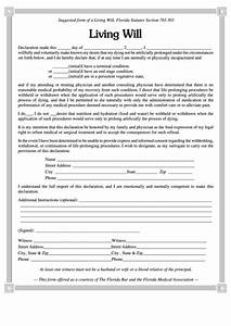 Download A Will Template Living Will Form Printable Pdf Download