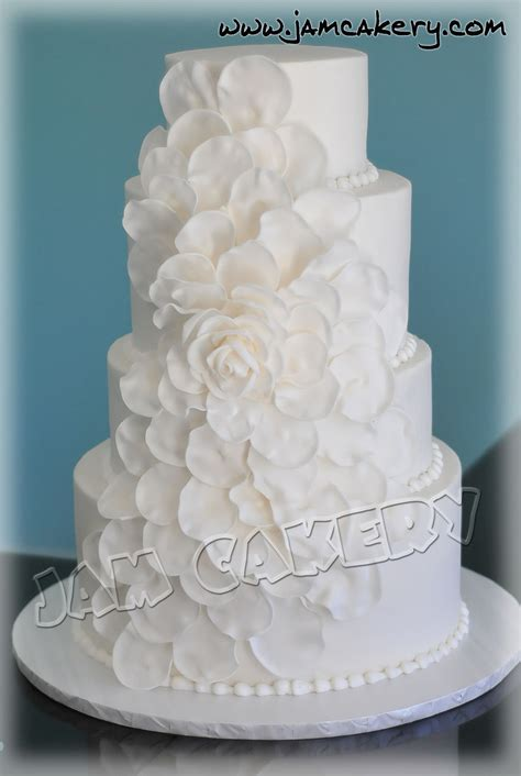 petal wedding cake jam cakery