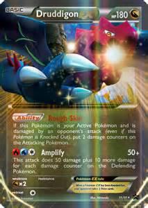 Mega Druddigon Pokemon EX Cards