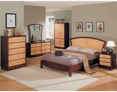 julie bedroom set maple cherry finish