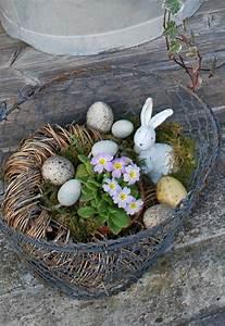 Eier Färben Mit Naturmaterialien : fr hlingsdeko basteln mit naturmaterialien best drahtkorb eier fr hlingsblumen 750 ~ Frokenaadalensverden.com Haus und Dekorationen