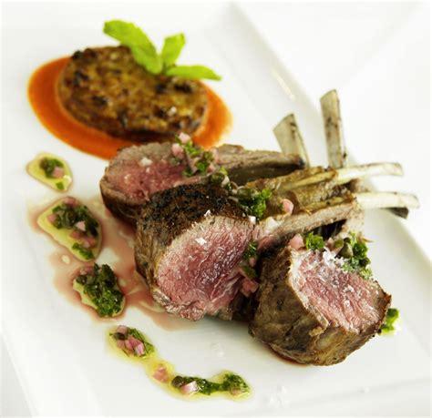 rack  lamb  herb caper sauce recipe