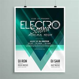 Club Event Flyer Templates Beautiful Electro Club Party Flyer Template Design