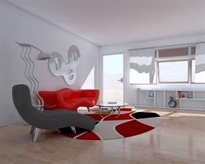 idees de decoration murale en fer With decoration murale design pour salon