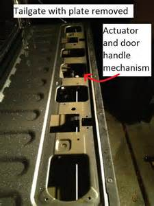 Disable Tailgate Automatic Lock