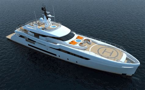 Yacht With Helipad by Wider 165 Eco Yacht With Helipad By Wider Superyachten