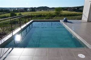 piscine sol et terrasse villeveyrac herault carrelage With carrelage pour terrasse piscine