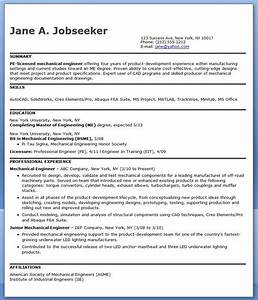 Mechanical engineering resume sample pdf experienced for Engineering resume format pdf