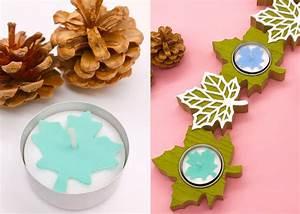 Teelichter Selber Basteln : herbstdeko basteln teelichter mit ahornblatt ~ Eleganceandgraceweddings.com Haus und Dekorationen