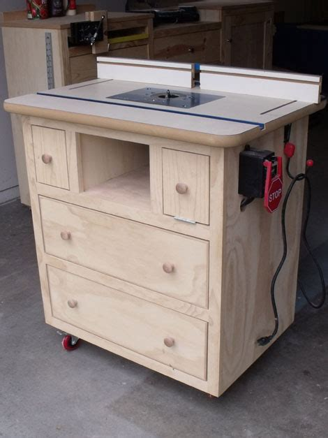 Ana White  Patrick's Router Table Plans  Diy Projects