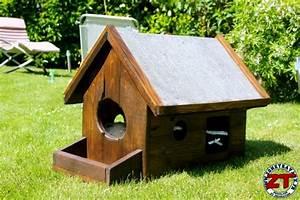 Cabane Pour Chat Exterieur Pas Cher : tuto construire une cabane pour chat ~ Farleysfitness.com Idées de Décoration