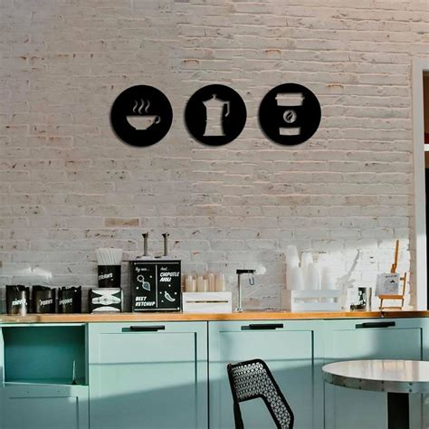 Our family recipe kitchen wall decor. Metal Wall Art Coffee Signs Set Interior Decoration Home ...