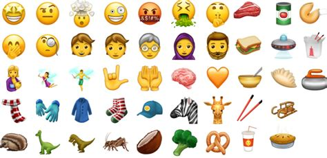 These Are The 51 New Emoji We Could See In 2017
