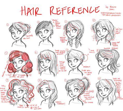hair tutorial reference   wednesdayjames