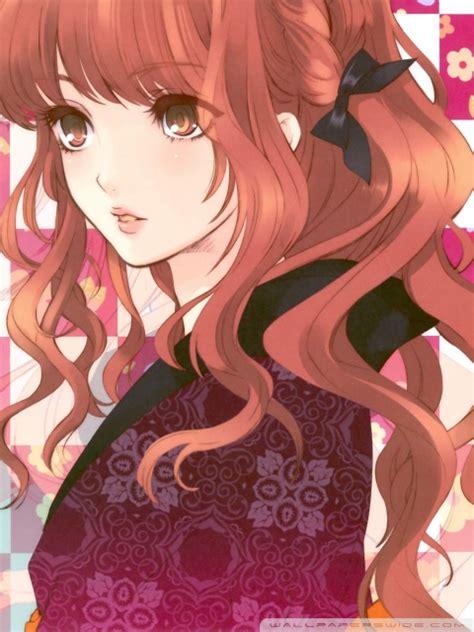 beautiful anime girl ultra hd desktop background wallpaper