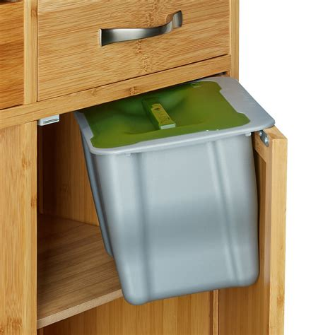 Abfallbehalter Kuche by Abfallbeh 228 Lter F 252 R Die K 252 Che Grau Yomonda