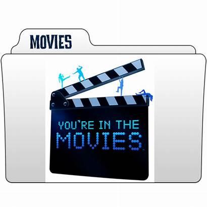 Folder Icon Movies Transparent Gterritory Icons Deviantart
