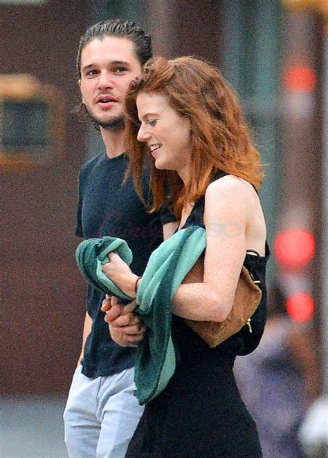 kit harington  rose leslie hold hands   york