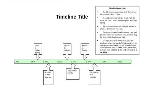 blank timeline templates psd