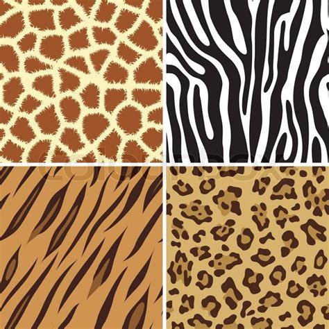 seamless tiling animal print giraffe zebra tiger