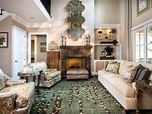 Casual, Elegant Living Room Sandy Kozar HGTV