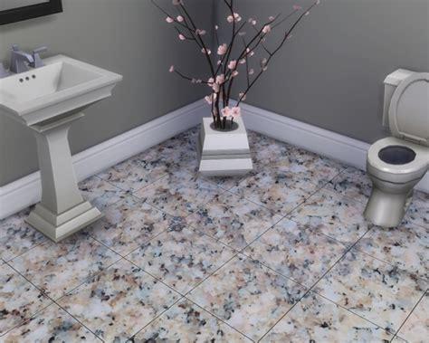 glossy granite floor tiles  madhox  mod  sims