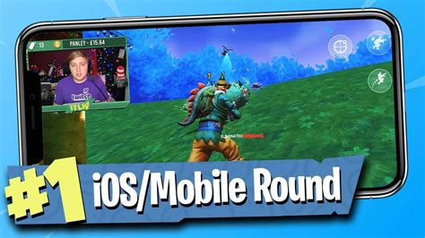 fortnite battle royale ios mobile gameplay youtube