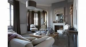 deco salon 30 salons a l39esprit campagne chic pour s With attractive idee amenagement jardin de ville 18 decoration appartement mur blanc