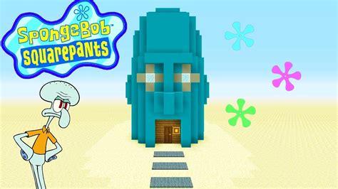 minecraft tutorial    squidwards house spongebob squarepants youtube