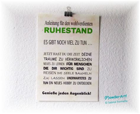 bild anleitung f 252 r den ruhestand no 1 ruhestand drucke