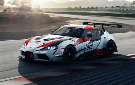 toyota gr supra racing concept previews upcoming