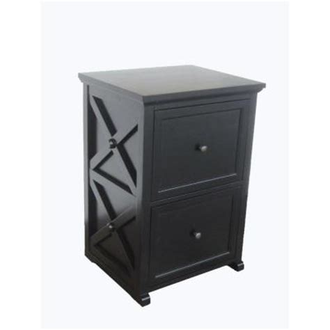 File Cabinet Locks Home Depot by Home Decorators Collection Brexley Black 2 Drawer File