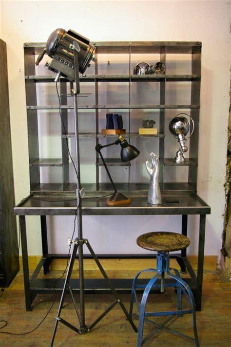 bureau tri postal meuble metier bureau tri postal industriel atelier loft