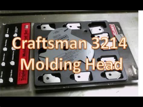 table saw moulding head moulding knife 2 mp4 how to save money and do it yourself
