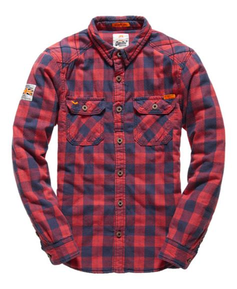 quilted shirt mens mens rookie flannel quilted shirt in brunswick check