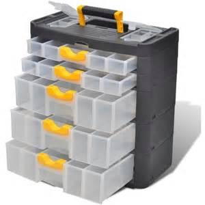 bo 238 te casier commode de rangement plastique 5 tiroirs 140907 outillage